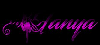 Tanya The Model Logo